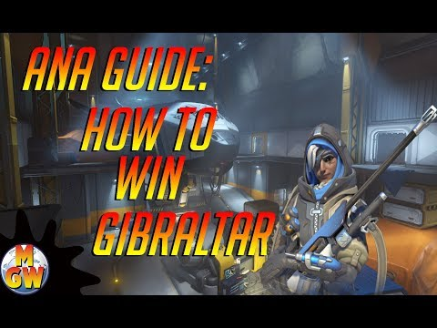 Ana Guide: How to Win Gibraltar - Overwatch Hero Challenge @mikesgameworld