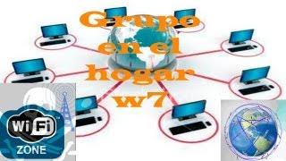 Crear y Configurar un Grupo en el Hogar en Windows 7