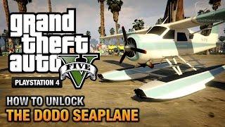 GTA 5 How To Unlock The Dodo Seaplane [PS4 & Xbox One