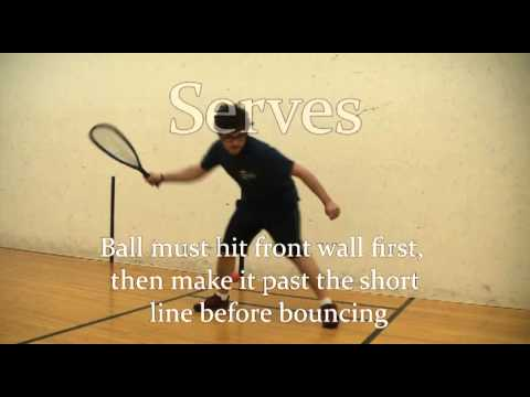 How To Play Racquetball: The Basics