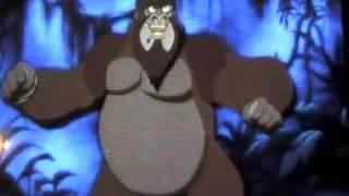 Disney's The Legend Of Tarzan-Kerchak Vs.Tublat