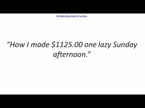 Quick Cash Generating Plan