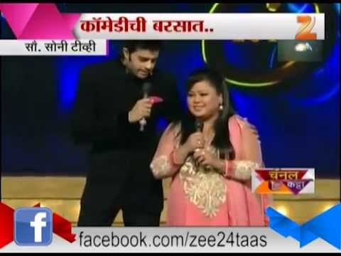 Channel Katta Manish Paul And Bharti Singh Comedy In Umang 2014