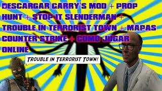 COMO DESCARGAR GARRY'S MOD 13 + COMO JUGAR ONLINE + PROP