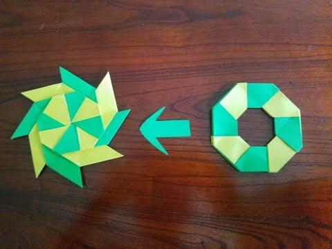 Cách gấp phi tiêu giấy đơn giản nhất mọi thời đại | Nghệ thuật gấp giấy origami đơn giản