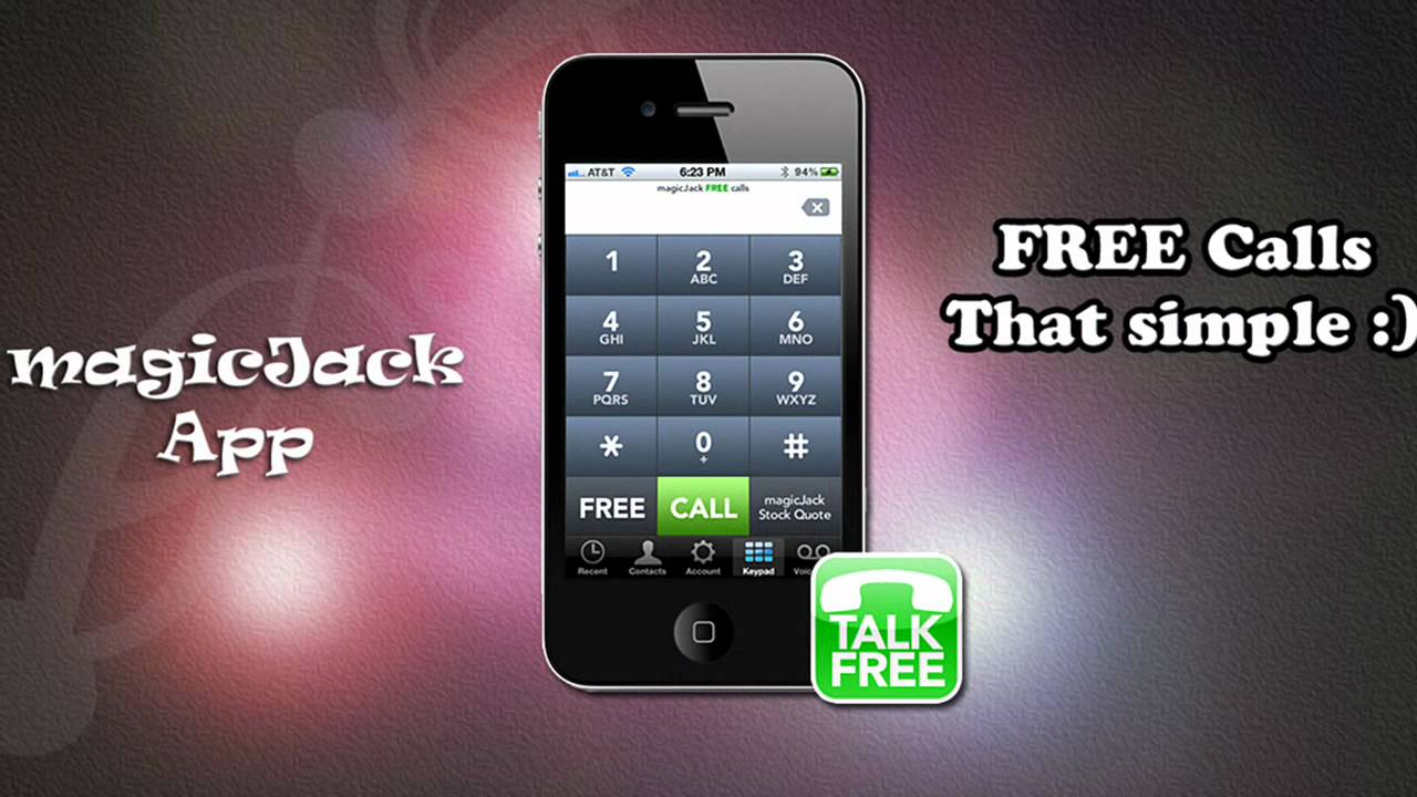 magic jack free phone calling app
