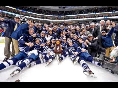 Yale Men's Ice Hockey NCAA Championship Celebration Apr. 15, 2013