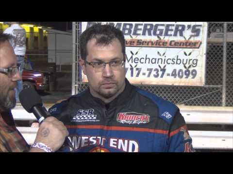Williams Grove Speedway 358 Sprint Car Victory Lane 3-28-14