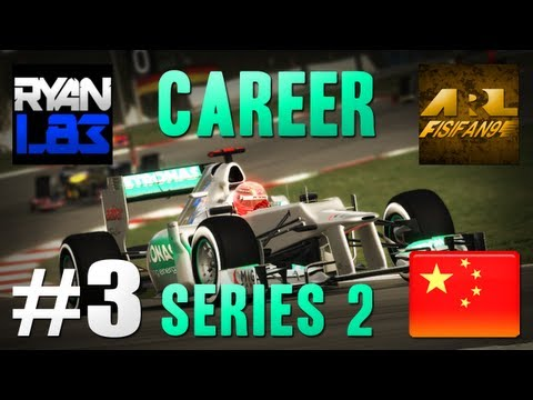 F1 2012 [Career Mode] S2 - Part 3: Chinese Grand Prix Feat FisiFan91
