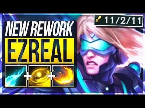 EZREAL REWORK IS ACTUALLY BUSTED! Ezreal Rework ADC Gameplay | League of Legends
