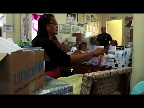 Emergency health kits reach strained medical facilities in the Philippines