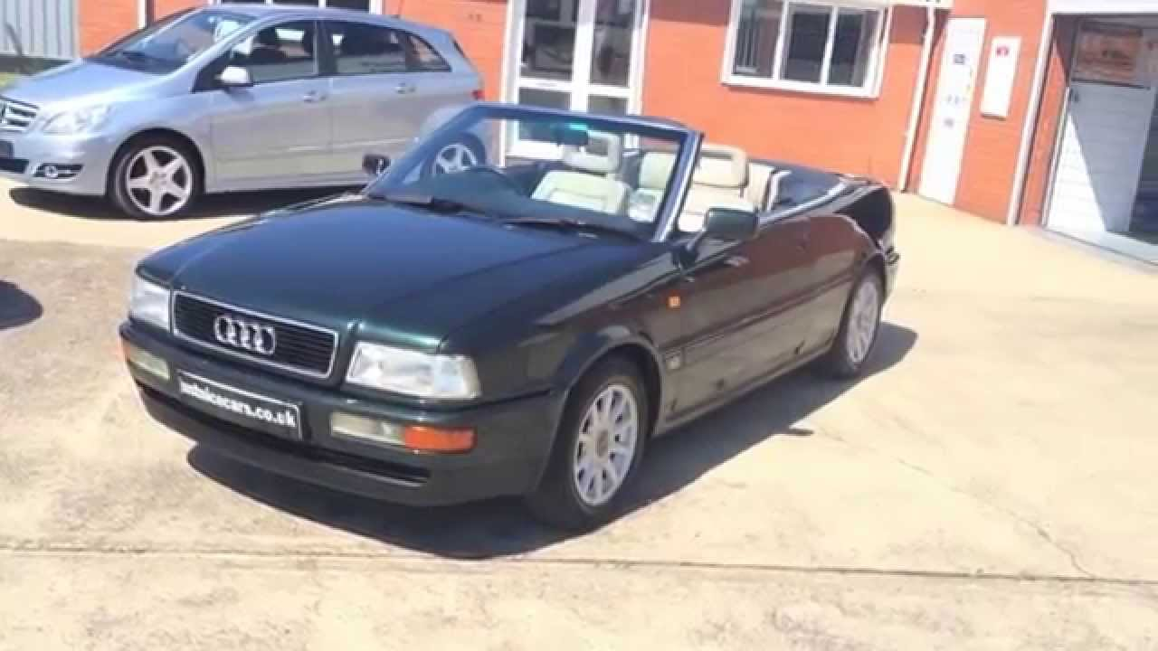 1995  N  Audi 80 Cabriolet 2 0e  Sorry Now Sold