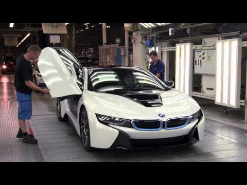 Production of the BMW i8