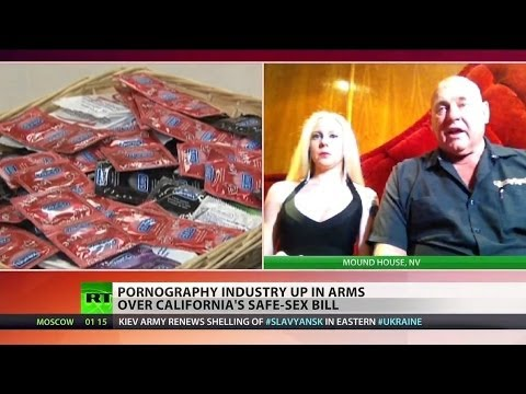 Porn industry up in arms over California condom bill