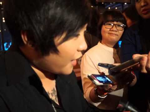Charice Interviewed During the Yahoo OMG! Pre-Event Party