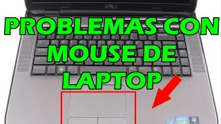 Mouse del portatil no funciona