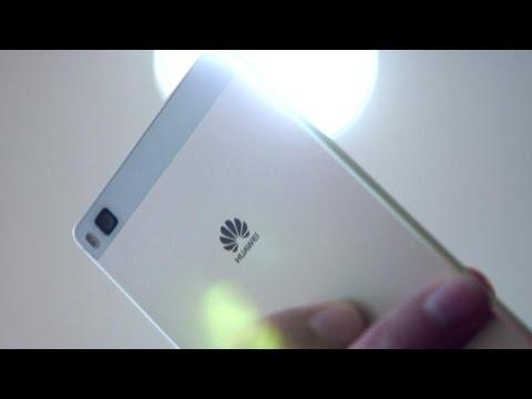 Huawei's P8 is skinny, metal, affordable