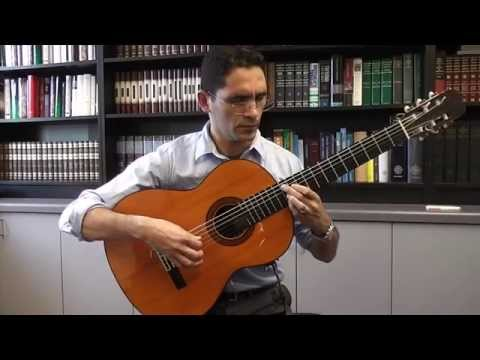 Ramirez Concert Classical Guitar 1962 (FM) - Preludio from 'La Catedral'