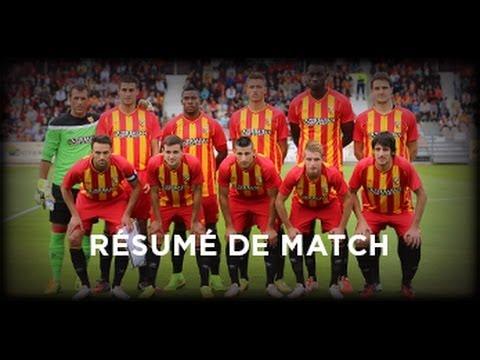 Le résumé de Boulogne-Lens (2-1) en amical