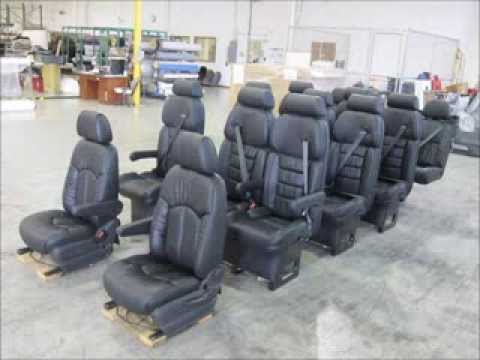 Luxury captain chairs sp15 seating package limousine seats youtube