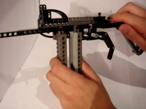 how to build a lego gun that shoots easy