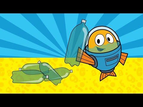 Peixonauta, O caso das garrafas plásticas
