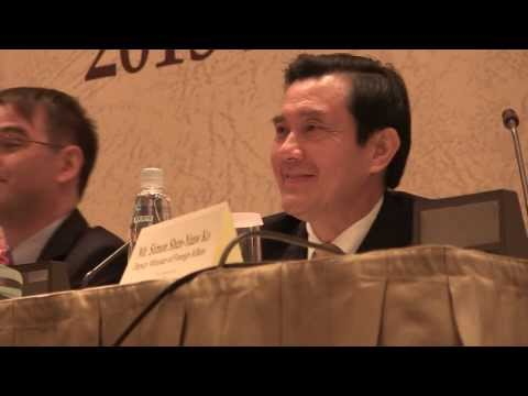 Taiwan President Ma answers my question 2013 English press conference in Taipei 馬英九 英文 記者會