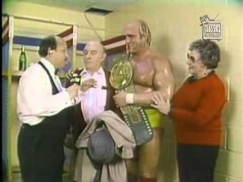 Hulk Hogan Interview After First Title Win 1984 Youtube