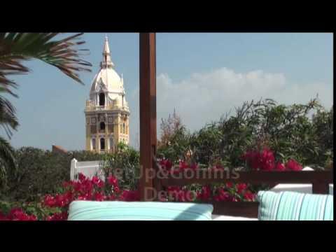 Colombia Boutique Hotels - Cartagena de Indias. Video: Get Up & Go Films