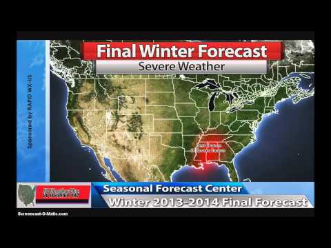 US Weather Plus Final Winter 2013-2014 Forecast