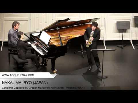 Dinant2014 NAKAJIMA Ryo Concierto Capriccio by Gregori Markovich Kalinkovich Version DINANT