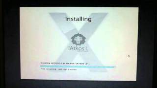 iATKOS L2 Boot, Customize, Install, First and Second Run.