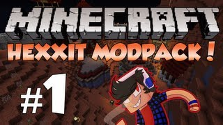 Minecraft: Hexxit! Episode 1 - Villager Massacre