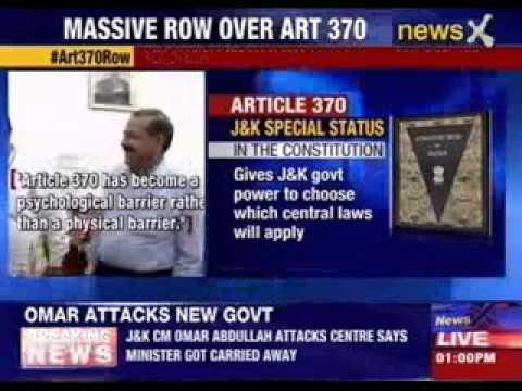 Omar Abdullah: Article 370 only link between India & J&K