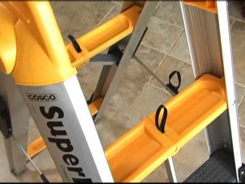 Escalera plegable superfold youtube for Escaleras kotas