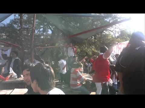 Previa en los quinchos. RIVER-Quilmes