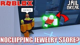 INSANE Jewelry Store NOCLIP GLITCH *NO HACKS* | Roblox Jailbreak Myth Busting