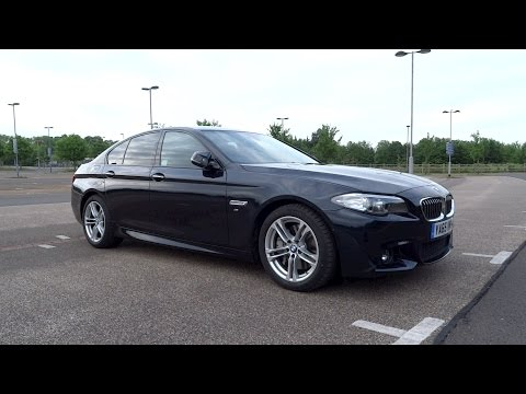 2016 BMW 530d M Sport Start-Up and Full Vehicle Tour