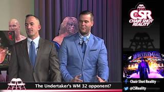 Who Fights The Undertaker At WrestleMania 32