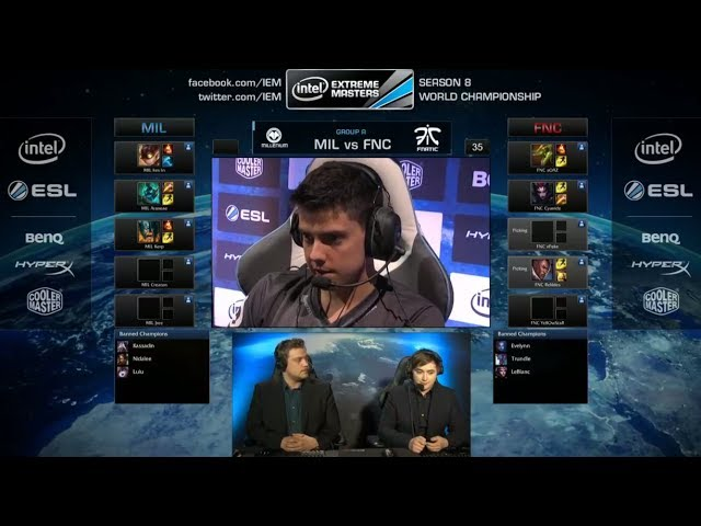 Millenium vs Fnatic | IEM Katowice WC LOL 2014 Group A Round 2 | MIL vs FNC