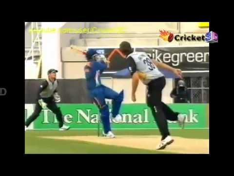 STUNNER   VIRENDER SEHWAG Hits First 3 balls for 3 SIXES   IND Vs NZ T20