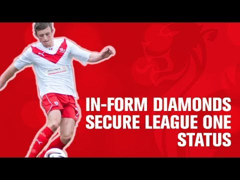 In-form Diamonds secure League One status