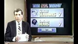 NFL 1987 Season Week 14 Highlights THE NFL TODAY