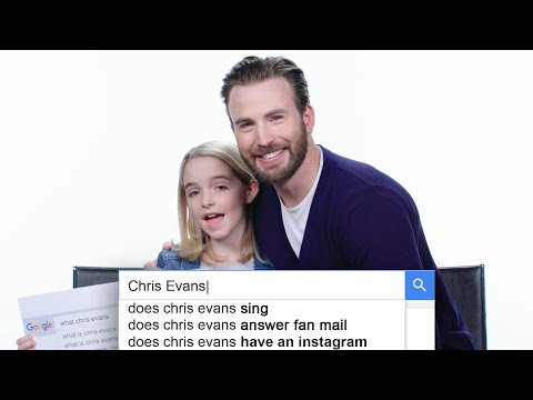 Chris Evans Answers the Web's Most Searched Questions | WIRED