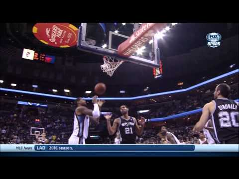 Kawhi Leonard Full Highlights Interview Spurs vs Grizzlies (1/7/2014) 17 Pts, 6 Reb - Project Spurs