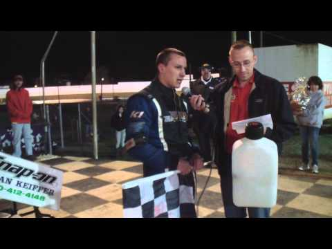 Port Royal Speedway 305 Sprint Car Victory Lane 4-19-14