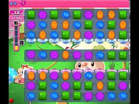 How to beat Candy Crush Saga Level 77 - 1 Stars - No Boosters - 56
