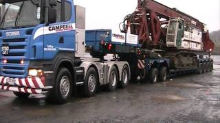 Campbell Heavy Haulage @ Lockerbie Truckstop view on youtube.com tube online.
