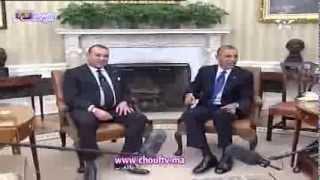 لقاء الملك محمد السادس بالرئيس الأمريكي باراك أوباما | قنوات أخرى