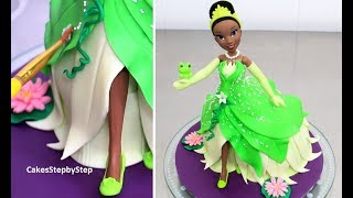TIANA Disney Princess Doll Cake | How to make by Cakes StepbyStep